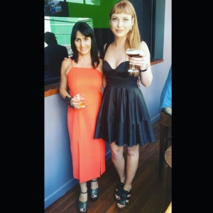 Wearing Nicola Finetti at the Style with Cindy Christmas Party